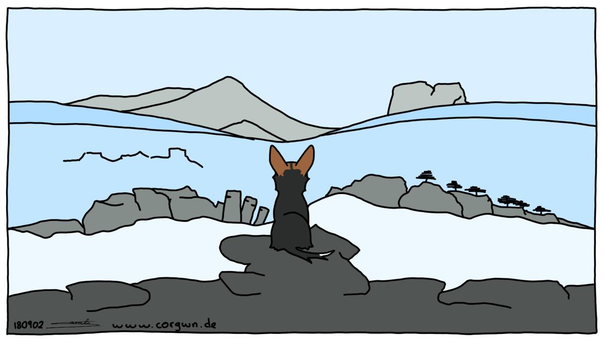 Der Wanderer über dem Nebelmeer Caspar David Friedrich
